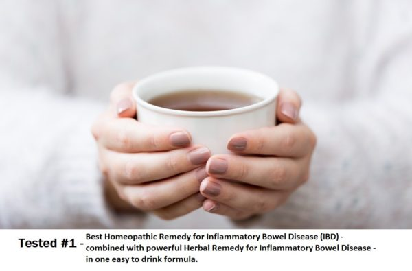 Best Homeopathic Remedy for Inflammatory Bowel Disease (IBD) - combined with Herbal Remedy for Inflammatory Bowel Disease