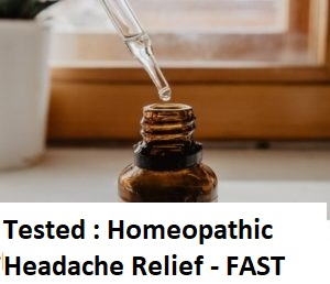 Best Homeopathic Headache Relief