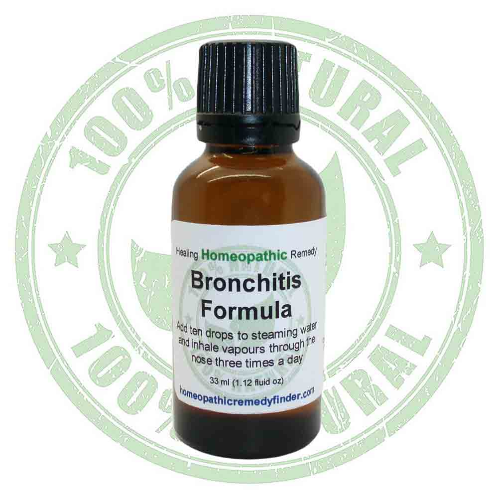 Bronchitis Relief Homeopathic Formula – (formerly called Bronchitis Doctor)*