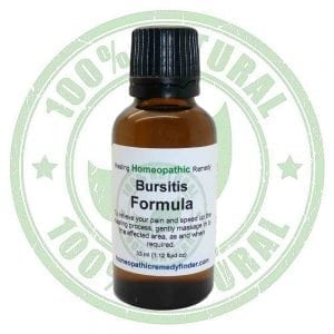 Bursitis Homeopathic Treatment