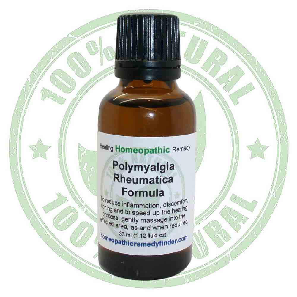 Polymyalgia Rheumatica Homeopathic Treatment Relief*
