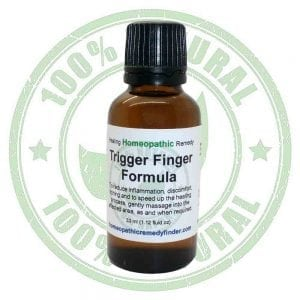 trigger finger treatment, trigger finger remedy, trigger finger cure, trigger finger homeopathic treatment