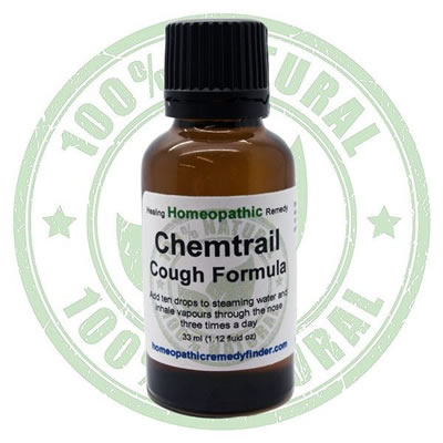 Homeopathic Chemtrail Cough Remedy Formula*