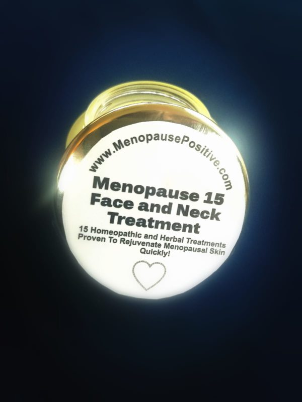 BEST Natural Menopause Face and Neck Cream - Menopause 15